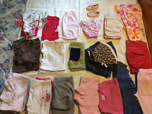 Girl's clothes - size 12-18 months