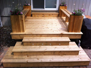 Stephane Deck's & Fencing. ( 10 Yr On Kijiji )