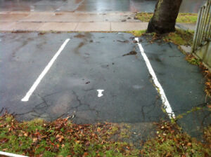 PARKING SPOT ON VICTORIA RD., NEAR SOUTH PARK