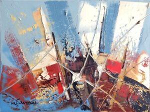 Tableau - toile peintre Marcel Favreau à magaleriedart.ca