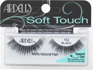 ARDELL SOFT TOUCH 162 BLACK EYELASHES (2 PACK)