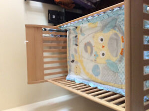 Gently used baby items- crib, breast pump and more