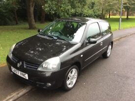 2007 Renault Clio 1.2 Campus-64,000-12 months mot-2 owners-cheap insurance