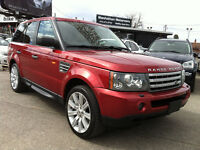 2008 RANGE ROVER SPORT SUPERCHARGED - NAV / CLEAN CAR-PROOF