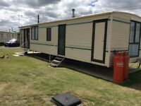 Holiday Caravan for rent / hire at steeple bay southminster essex
