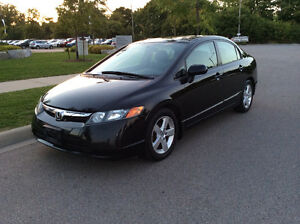 2008 Honda Civic EX-L, Low Kms, Fully Loaded, One Owner!!!