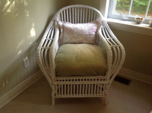 Antique wicker chair. Excellent condition