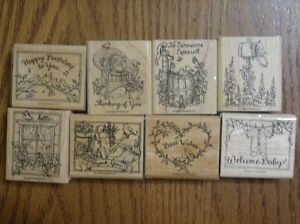 """Stampin' Up """"Feathered Friends"""" retired stamp set"""