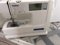 Brother small portable embroidery and sewing machine PE-300S