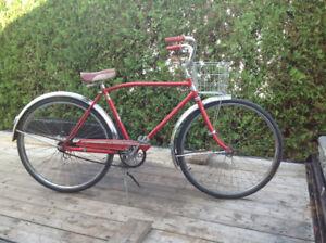 Vélo antique vintage ancien