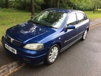 2003 Vauxhall Astra 1.6 SXI-89,000-December 2017 mot-2 owners-great reliable runaround