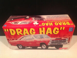 """ DRAG HAG "" 1:18 SCALE 1967 FORD FAIRLANE DIE CAST CAR BY GMP"
