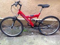 Matrix REFLEX Adult Mountain Bike Full Suspension