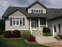 Custom Built Home on Acre Property in city limits of Humboldt