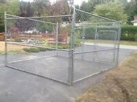 CHAIN LINK PANEL STYLE DOG PEN DELIVERY INCLUDED********