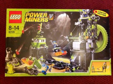Lego 8709 Underground Mining Station Power Miners new in box Magill Campbelltown Area Preview