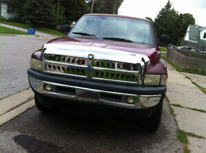 2001 Dodge Power Ram 1500 Red  Pickup Truck VorteX Engine4X4