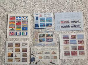 Canadian stamp sheet collection Strathcona County Edmonton Area image 1