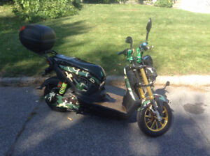Daymak Boston 72V Green Camo, Electric Scooter