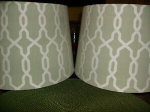 set of 2 lampshades new