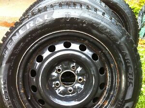215/65r16 on 5x115 rims General alitimax winter tires