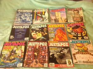 Juxtopoz art Magazine various issues from 1999 to 2008 bundle