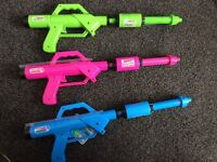 Wazooka Water Guns x3 RRP £36