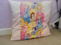 Disney princess pillow.