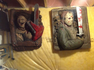 3D poster / wall busters  -horror icon figures