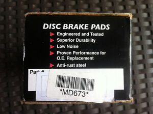 1996-2005 Chevy Cavalier front brake pads brand new
