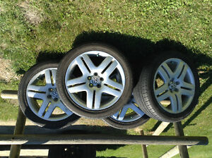 17 inch summer tires and rims for VW