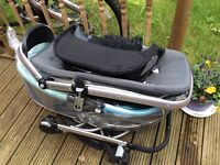 The Quinny Buzz pushchair used