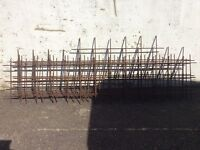 Steel concrete reinforcing mesh