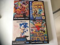 Bundle of 8 SEGA MegaDrive Games