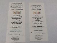 Exposition de courtepointes /Quilt show