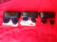 3x Ray Ban Sunglasses