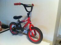 kid bike for age 3-5 years old, ((with traning wheels))