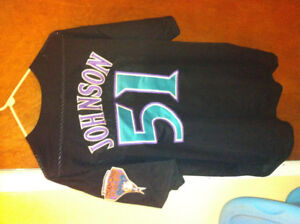 Randy johnson arizona diamondbacks 2xl mlb jersey