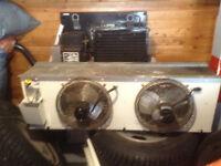 compressor fan for walking cooler
