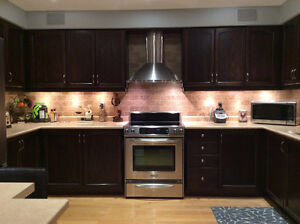Kitchen Cabinets with Counter Tops for sale