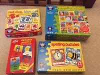 Educational Learning Alphabet Puzzle Children's Toy Game Bundle
