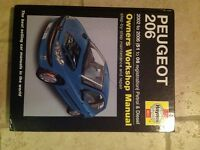 Peugeot 206 Haynes Workshop Manual