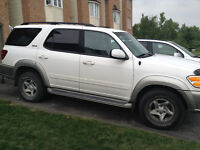 2002 Toyota Sequoia SUV, Cert and Etested