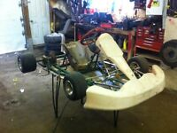 Tony cart with dr 250 motor