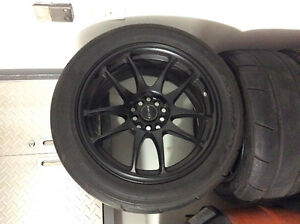 Nitto NT05R drag radials from Lexus ISF