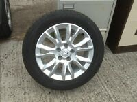 Vauxhall Alloy wheels, 205/155/R16. fit Zafira Vectra