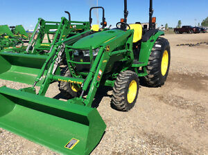 JOHN DEERE 4044M NEW 2017 AND D170 LOADER --SAVE OVER $8000.00