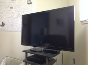 50 inch Philips flat screen television.