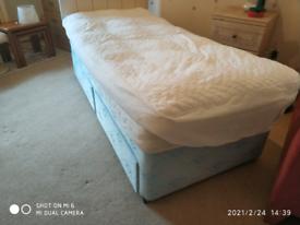 Single Bed, Mattress, Divan,