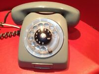 VINTAGE Ericsson LM- Telephone Rotary Dial